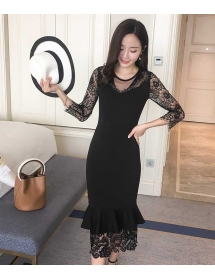 dress korea D4301