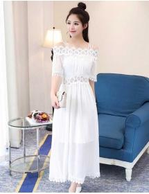 long dress sabrina D4302