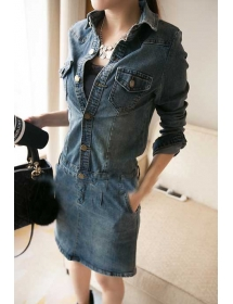 dress denim D4304