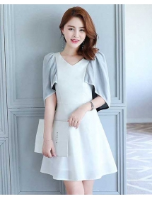 dress korea D4305