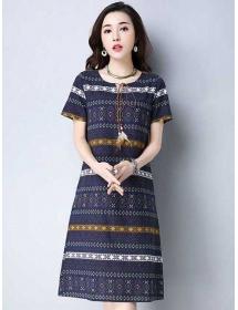 dress wanita import D4318