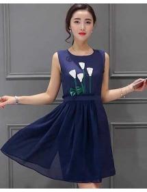 dress wanita import D4320
