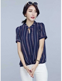 blouse v-neck T3812