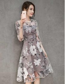 dress korea D4334