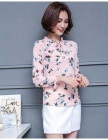 blouse motif bunga T3836