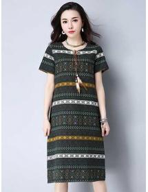 dress wanita import D4355