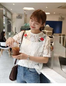 blouse brukat T3846
