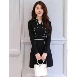 dress korea D4365
