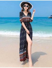 long dress import D4366