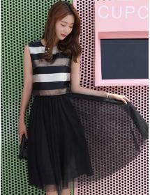 dress korea D4373