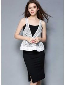 dress wanita import D4374