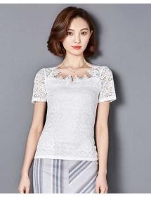 blouse brukat korea T3869