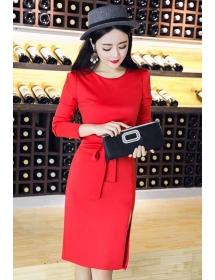 dress wanita import D4382