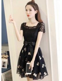 dress korea D4385