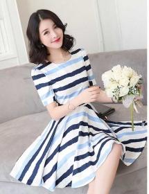 dress korea D4409