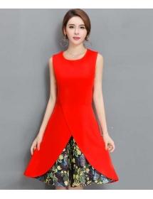 dress korea D4419