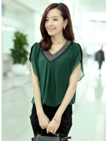 blouse korea T3891