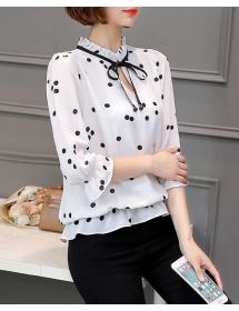 blouse polkadot import T3893