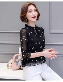 blouse polkadot import T3894