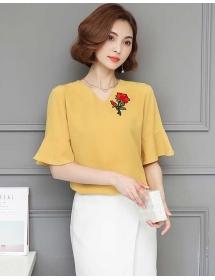 blouse korea T3895