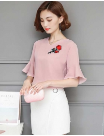 blouse korea T3896
