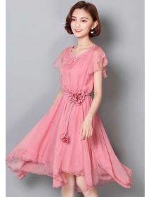 dress korea D4436